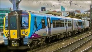 TPE 350403 In New TPE Livery + 350404 Departs Manchester Piccadilly For Manchester Airport