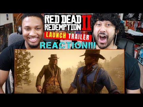 RED DEAD REDEMPTION 2 - Launch TRAILER - REACTION!!!