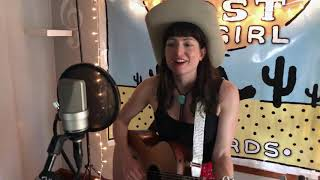 """Gotta See It All"" by Jenna Rae in Lost Cowgirl Records Studio"