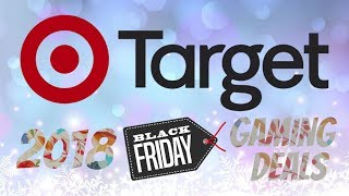 Target Black Friday 2018 Gaming Deals