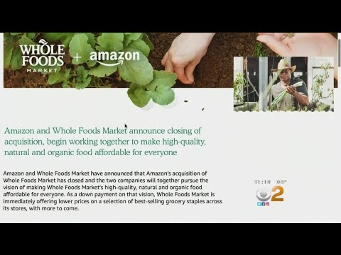 Changes Begin At Amazon-Owned Whole Foods