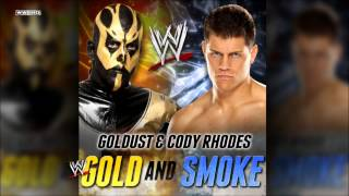 "WWE: ""Gold And Smoke"" (Goldust & Cody Rhodes) Theme Song + AE (Arena Effect)"
