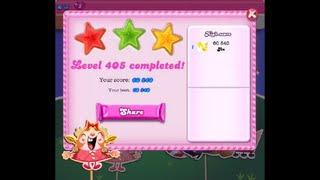 Candy Crush Saga Level 405 ★★★