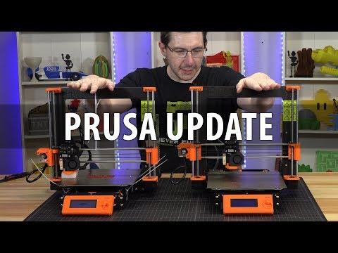Update on my Problematic Prusa i3 mk3 3D Printer