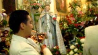 cancion a santo de san buenaventura en iglesia