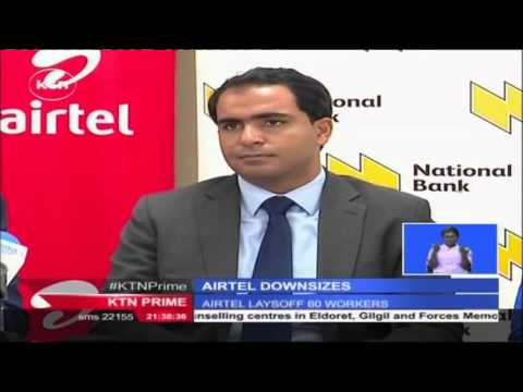 Kenya's second largest telecommunications operator Airtel Kenya lays-off at least 60 employees
