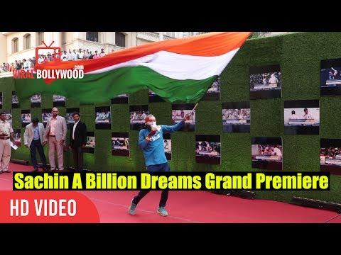 Sachin Tendulkar's Biggest Fan Sudhir Kumar Chaudhary At Grand Premiere Of Sachin A Billions Dreams