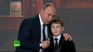 Владимир Путин пообщался с юными географами-вундеркиндами