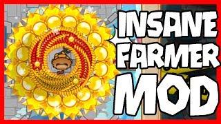 INSANE FARMER MOD -  Bloons TD Battles