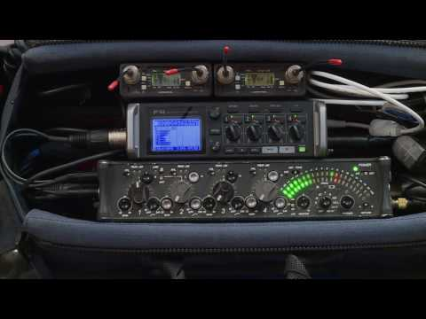 Combining a Zoom F4 and Sound Devices 442