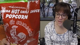 Crack the Cupboard Trivia: Siracha Popcorn
