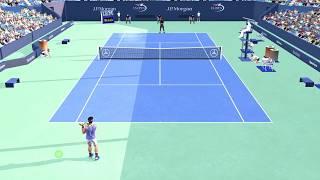 Full Ace Tennis Simulator: Nuevo mod!!! (Nadal vs Monfils)