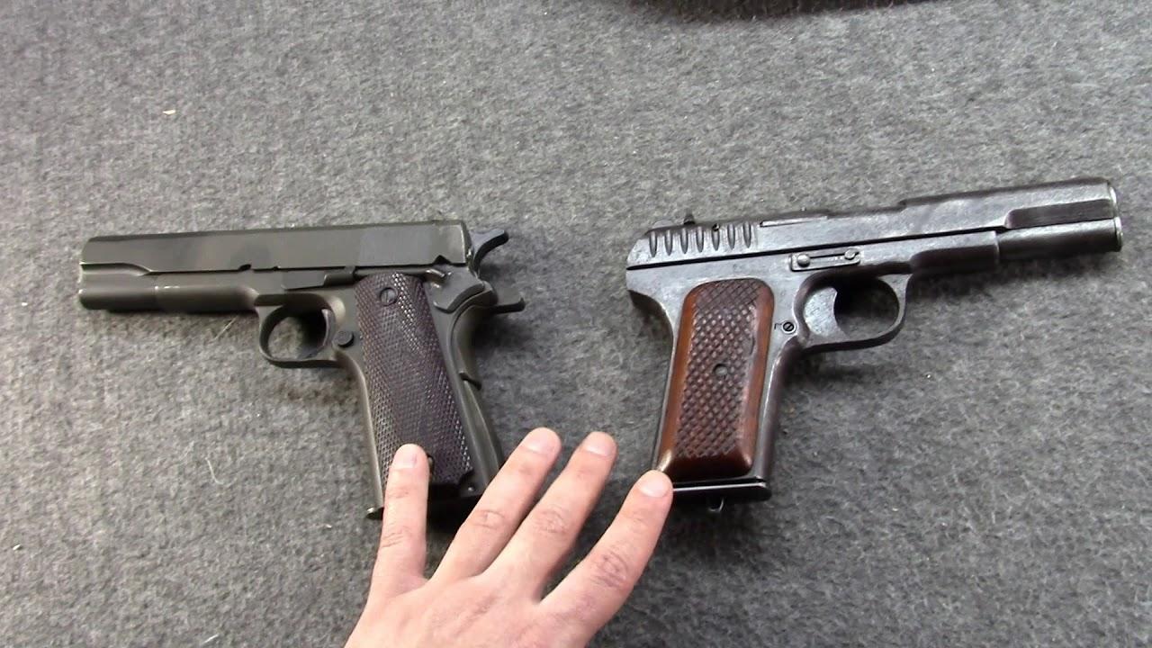 Misha's Top 8 WWII Military Handguns: Favorite Axis & Allies Milsurp Picks