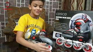 Cosco Sprint Inline Skate Unboxing and review