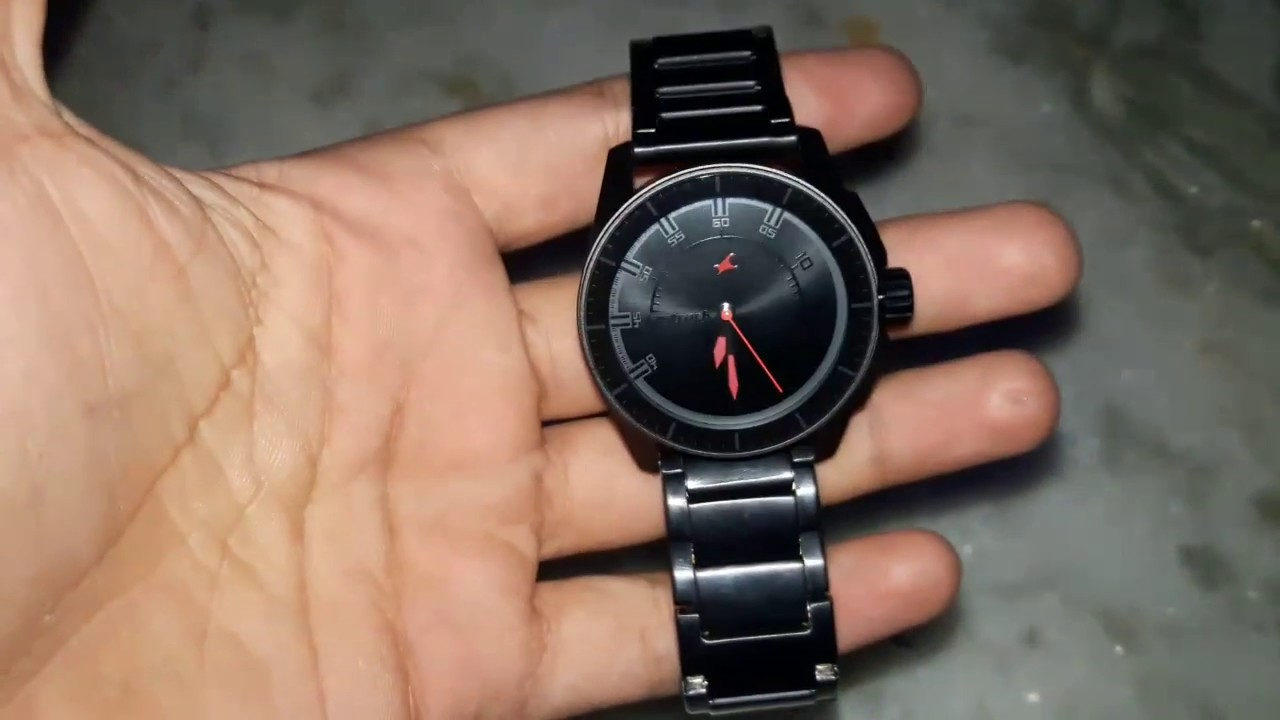 Mens Watches Black On Black