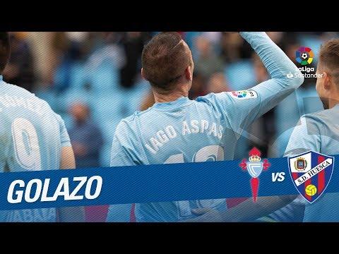 Golazo de Iago Aspas (2-0) RC Celta vs SD Huesca