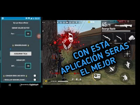 Aplicacion Para Dar Tiros A La CABEZA En Cualquier Dipositivo *free Fire* 2020