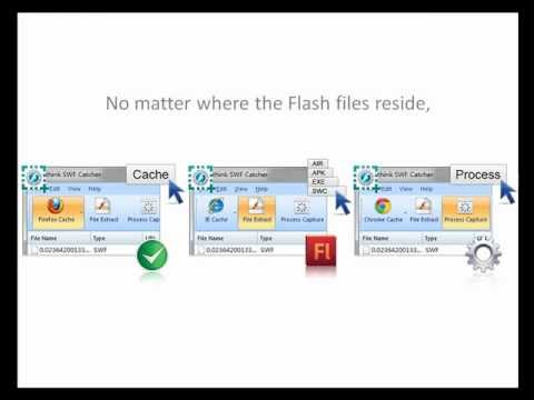Capture Flash SWF Anywhere, Only One Click!