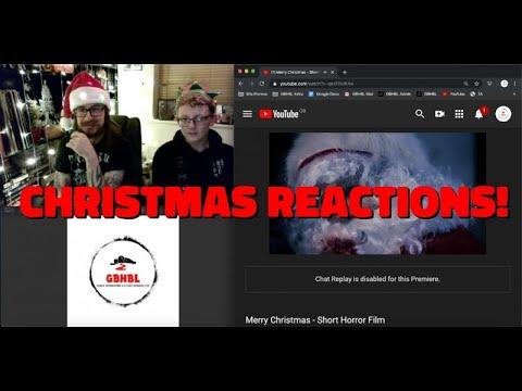 GBHBL Christmas Reactions: Merry Christmas (Horror Short)