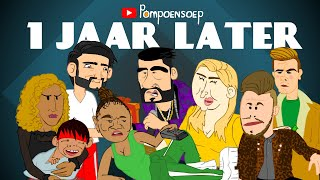 House of Talent Parodie Cartoon: 1 Jaar Later