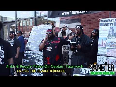 Ankh & Reggie Battles Captain Tazaryach At The Slaughterhouse