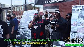 Ankh & Reggie Battles Captain Tazaryach At The Slaughterhouse