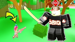 Roblox: SLAYING A LEVEL 400 BOSS MONSTER!!! thumbnail