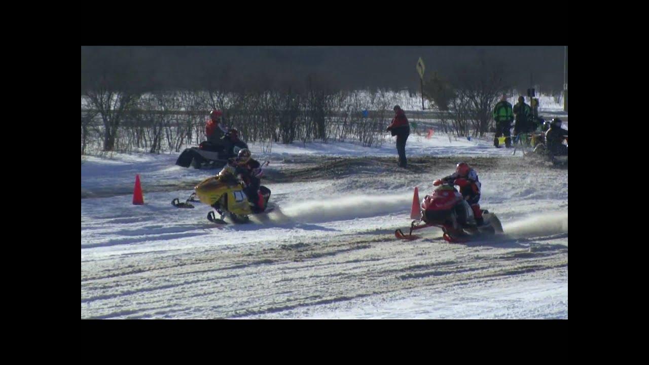 Snow Blast Snowmobile Drag Races East Jordan MI 2010