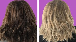 How to Bleach your Hair at home with hydrogen peroxide