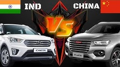 Top 10 Most Selling Car INDIA VS CHINA