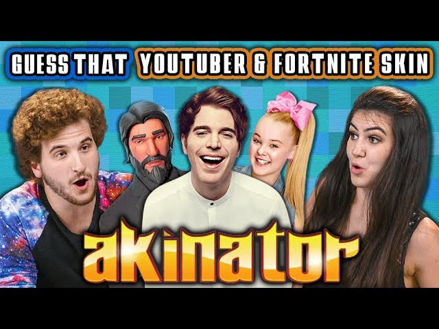guess-that-youtuber-and-fortnite-skin-akinator-2-react-gaming