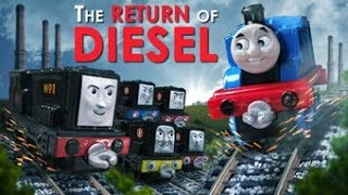 Thomas & Friends: Return of Diesel Compilation + NEW Bonus Scenes | Thomas & Friends