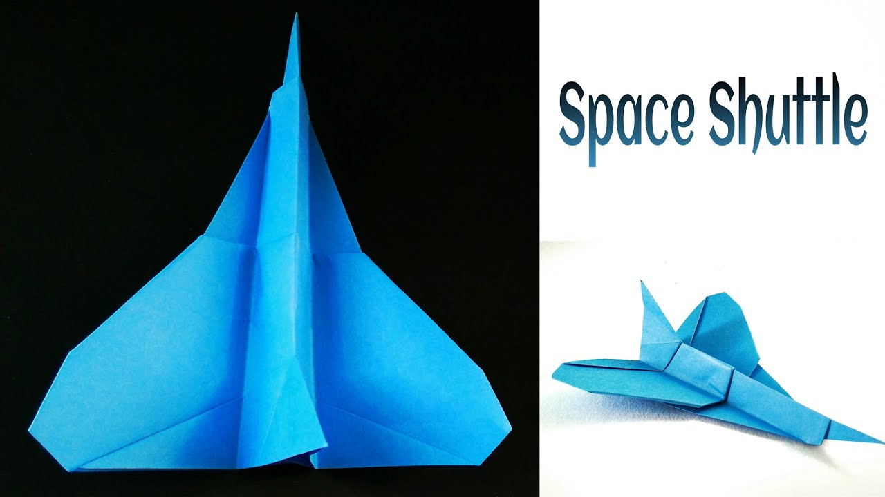 space shuttle origami - photo #35