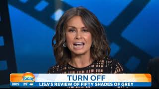Lisa Wilkinson's scathing review of 'Fifty Shades Of Grey'