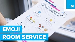 Forget Calling, Try Emoji Room Service | Mashable