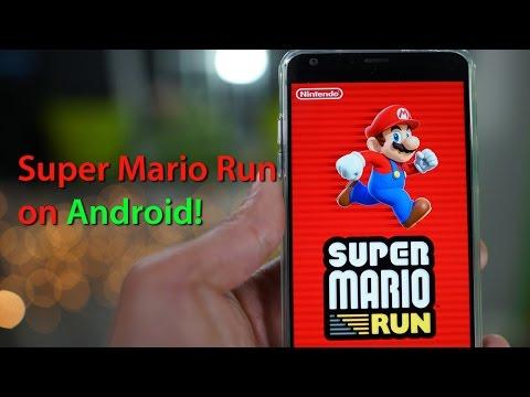 Super Mario Run on Android! [Gameplay/APK]