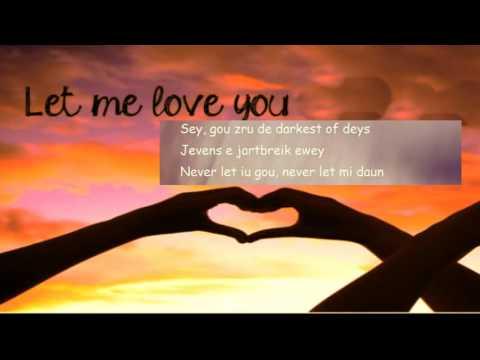 !Let Me love You Pronunciación!Justin Bieber!   YouTube