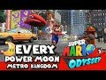 Super Mario Odyssey Walkthrough - How to get all 81 Power Moons in Metro Kingdom (Every Moon)