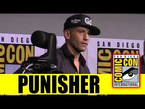 Marvel TV's PUNISHER Surprise Appearance Comic Con 2017 Panel (Jon Bernthal)