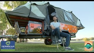 WIN this Opus Camper trailer -  Perth 4WD & Adventure Show 2016
