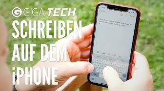 Schneller schreiben auf dem iPhone – GIGA.DE