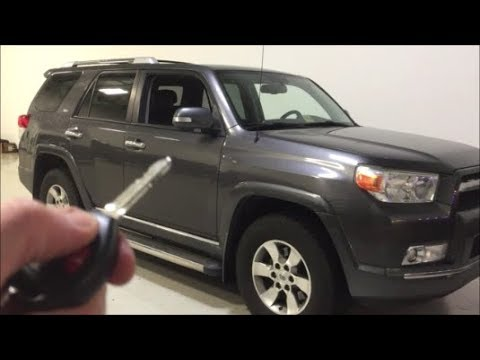 2013 Toyota 4runner Remote Start Added To The Oem Key Fob Richmond
