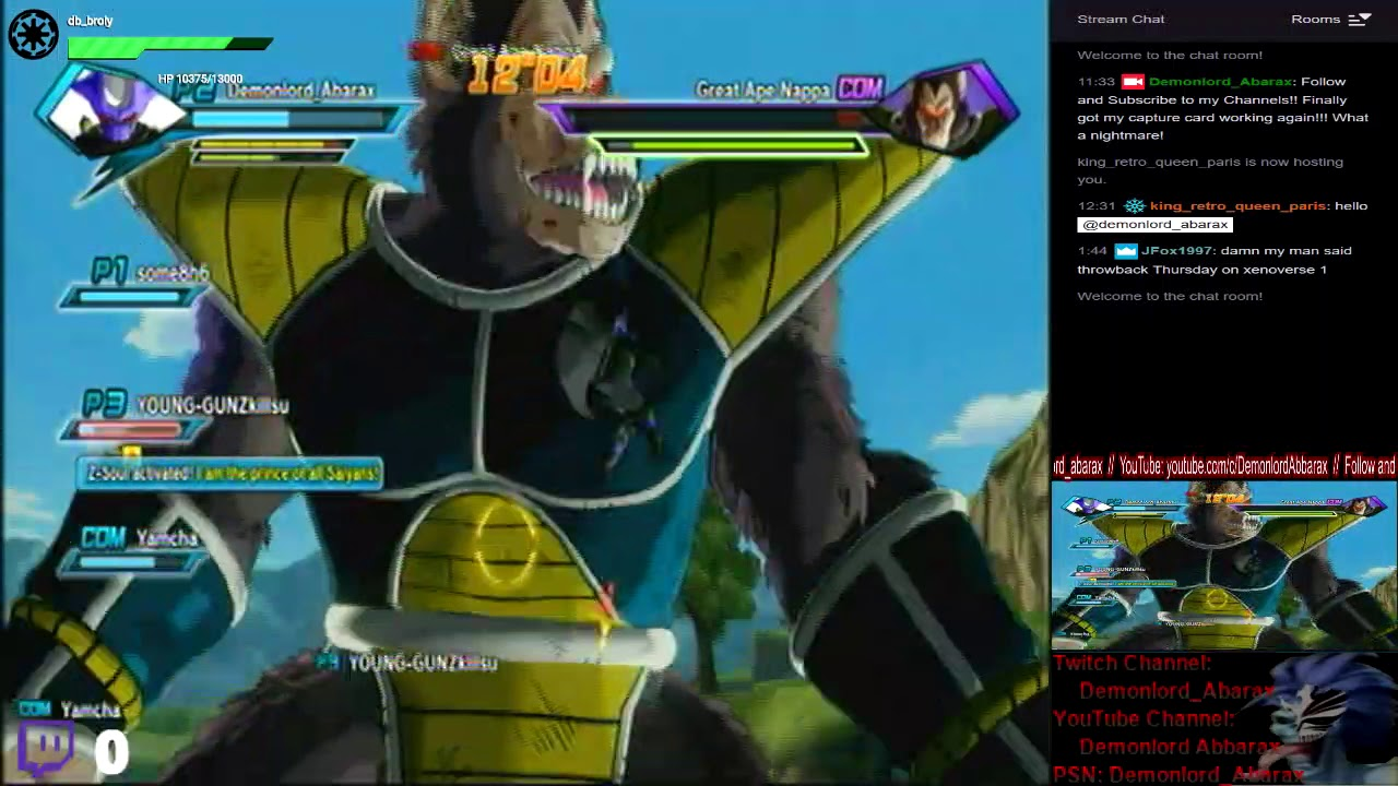 [PS3] Dragonball XenoVerse - {Brand New Char. Multiplayer #31} retry 2