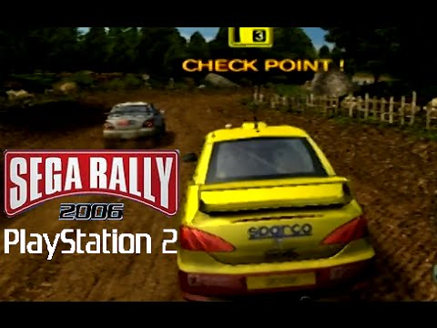 SEGA Rally 2006 playthrough (PS2)