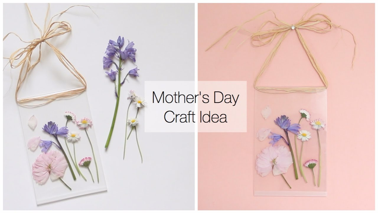 Dollar Tree Diy Mother S Day Gift Idea For Under 5 Flower Press