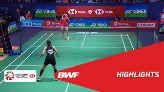 YONEX FRENCH OPEN 2018 | Badminton WS - QF - Highlights | BWF 2018