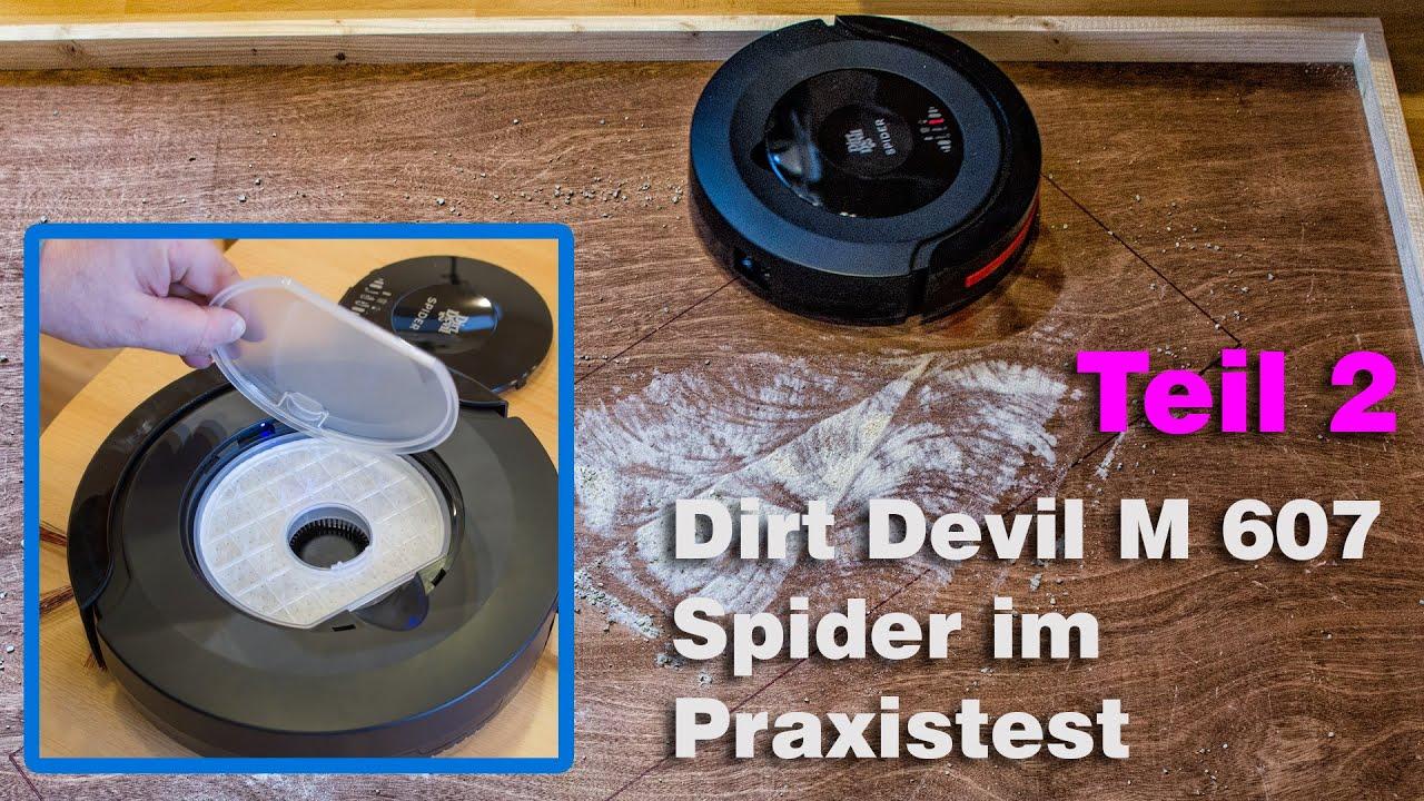Saugroboter Smart Staubsauger Reiniger Roboter Libero M606-4 Dirt Devil