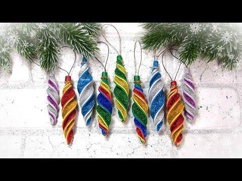 Новогодние украшения на елку своими руками