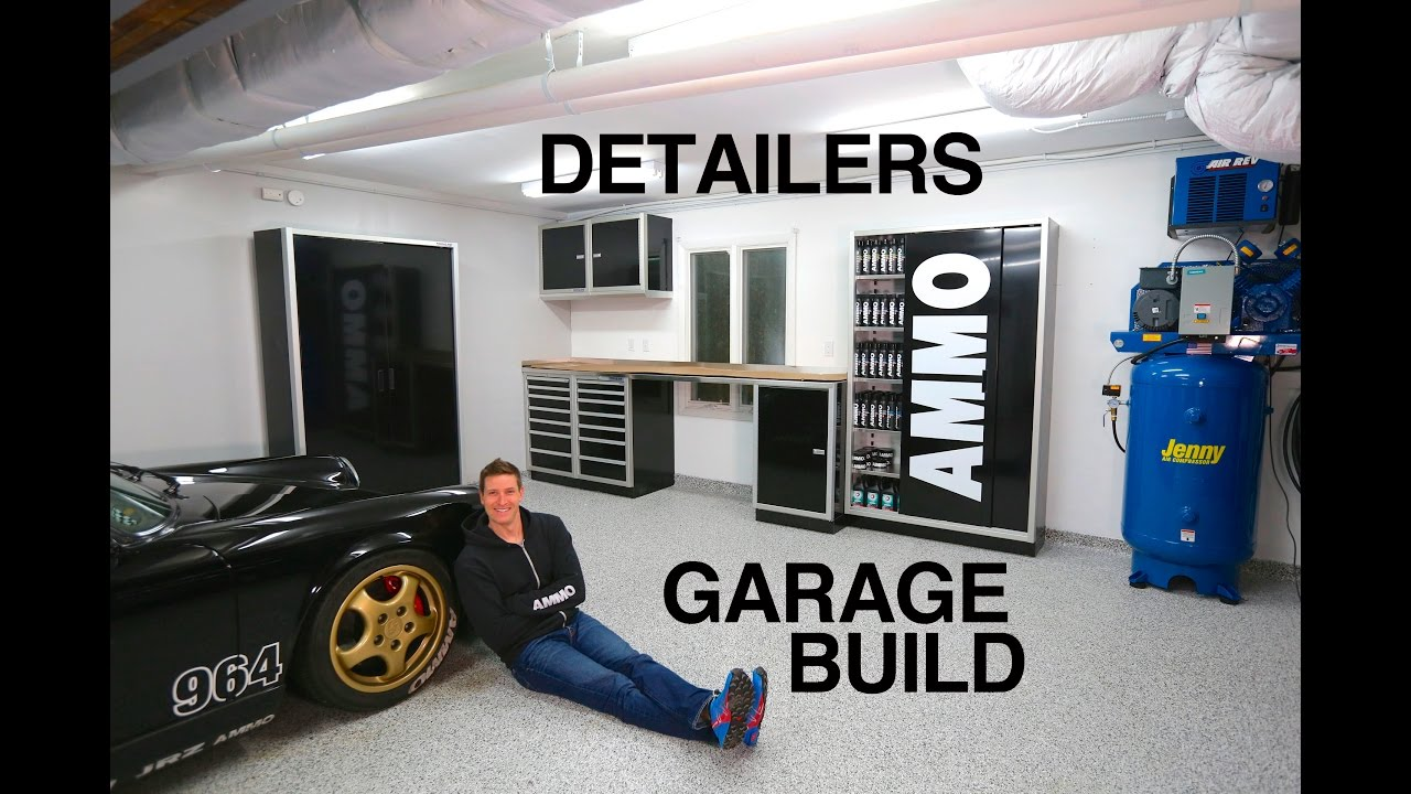 Ultimate garage build for detailers youtube for Build your garage online