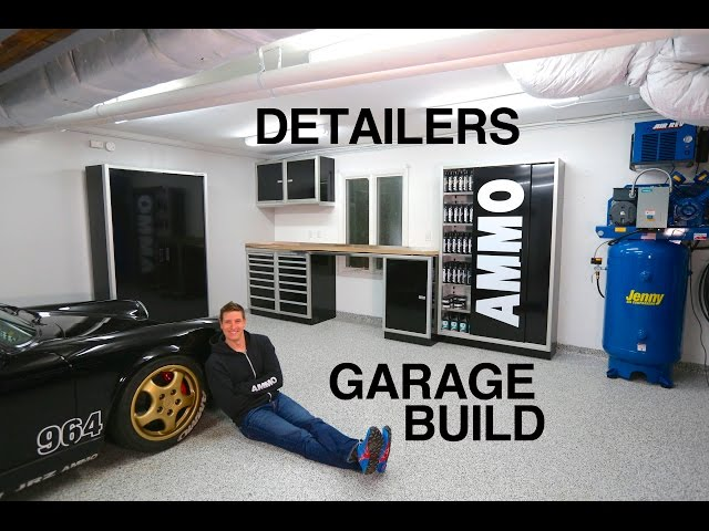 Larry Kosilla Transforms His Garage Into A Detailer S Paradise
